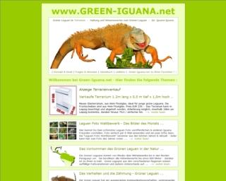 Green-Iguana.net Grüner Leguan
