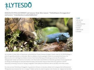 Lytesdo.de – Türkisblauen Zwerggeckos & Griechischen Landschildkröten