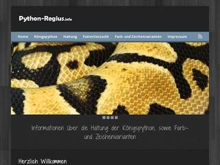 Python-Regius.info - Königspython