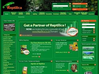 Reptilica Onlineshop