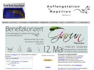 Reptilienauffangstation.de